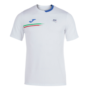 Joma T-Shirt Manica Corta Bianca
