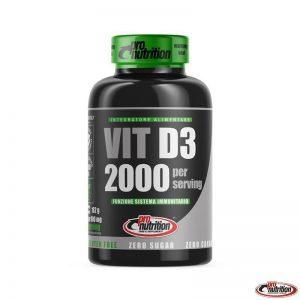 Pro Nutrion  Vitamina D3 2000ui 180 cpr